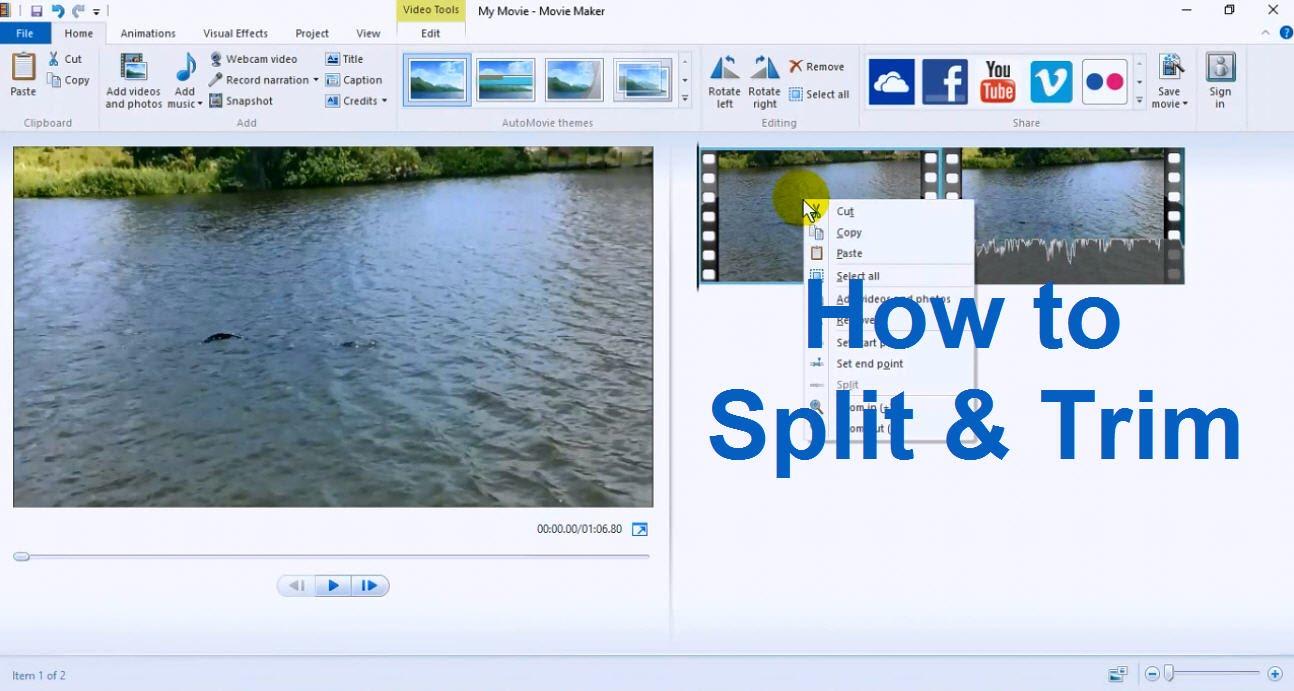 windows movie maker tutorial for beginners movie maker
