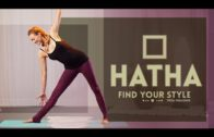 Hatha Flow Yoga For Beginners (30-min) Discover the Hatha Yoga Style (All Levels) Full Class Video