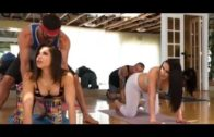 shruti hassan hot yoga