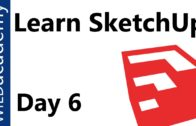 SketchUp Tutorial – 6 – Follow Me Tool