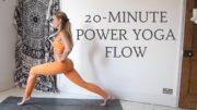 20-MINUTE POWER YOGA FLOW | Intermediate Level | CAT MEFFAN