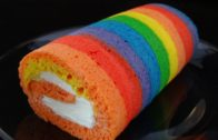 How To Make A Rainbow Cake Roll