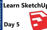 SketchUp Tutorial – 5 – Important Tips