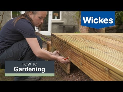 How To Build A Raised Deck With Wickes Howtovideo Info