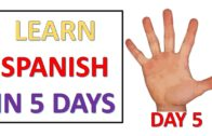 Learn Spanish in 5 days – Day 5