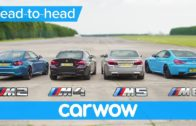 BMW M5 v M4 v M2 v M6 DRAG & ROLLING RACE | Head-to-Head