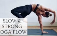 STRONG & SLOW YOGA FLOW | 30-Minute Power Yoga | CAT MEFFAN