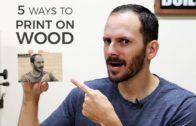5 Ways to Print on Wood   DIY Image Transfer