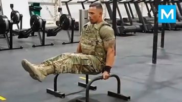 STRONGEST Soldier in Army Gym – Diamond Ott